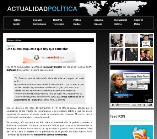 Actualidad Politica
